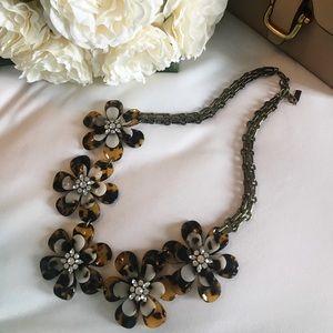 Bauble Bar Tortoise Twiggy Collar Necklace